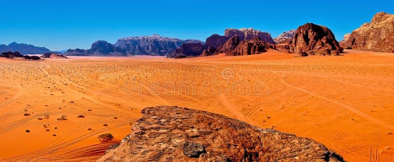 Wadi Rum stockbilder