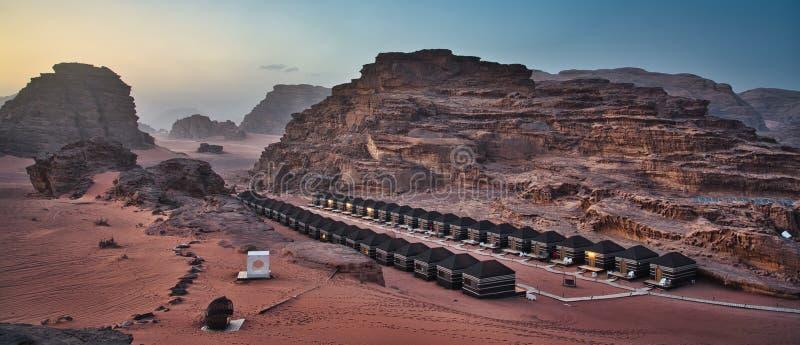 Wadi Rum Camp stock fotografie