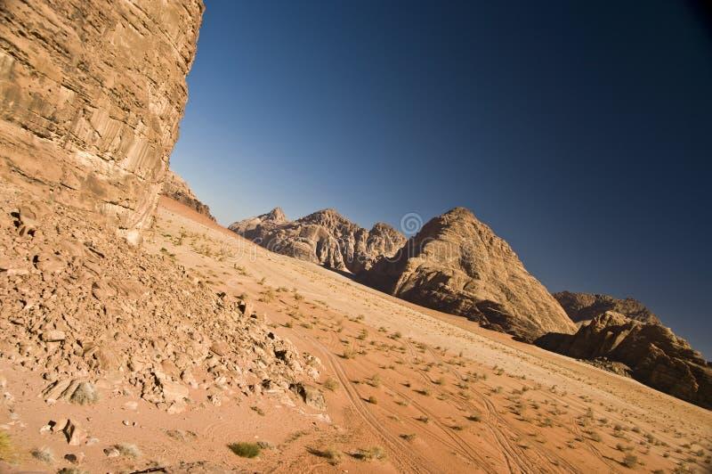Wadi Rum desert, Jordan stock photos