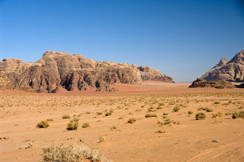 Wadi Rum desert, Jordan stock photography
