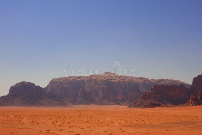 Wadi Rum Desert arkivbild