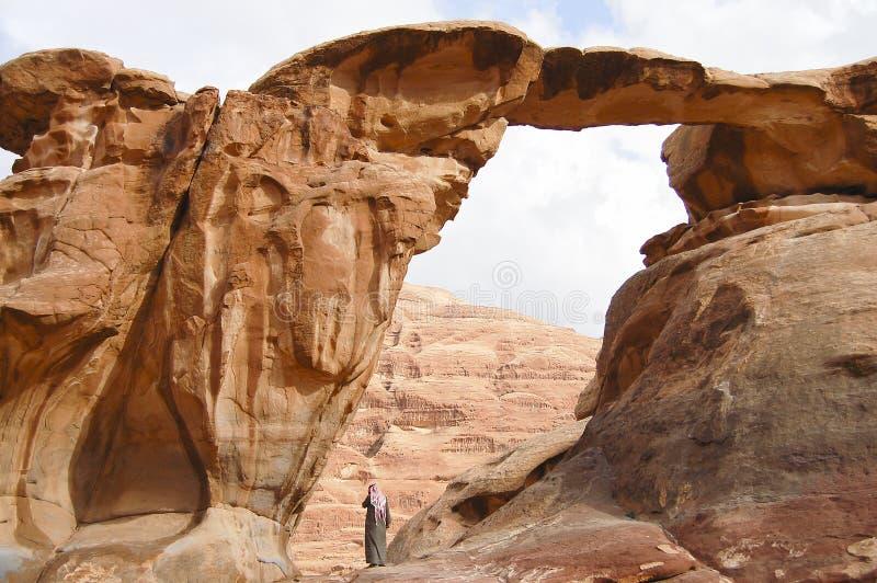 Wadi Rum - Jordânia fotografia de stock