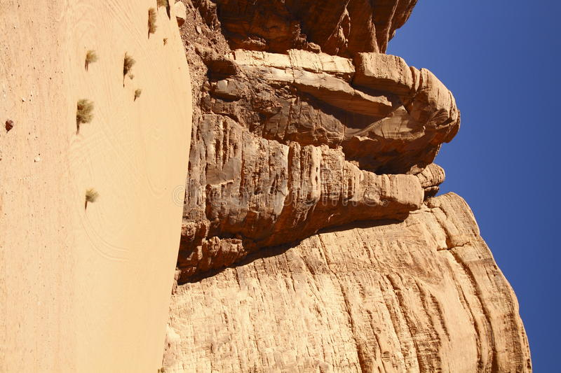 The Wadi Rum stock photography