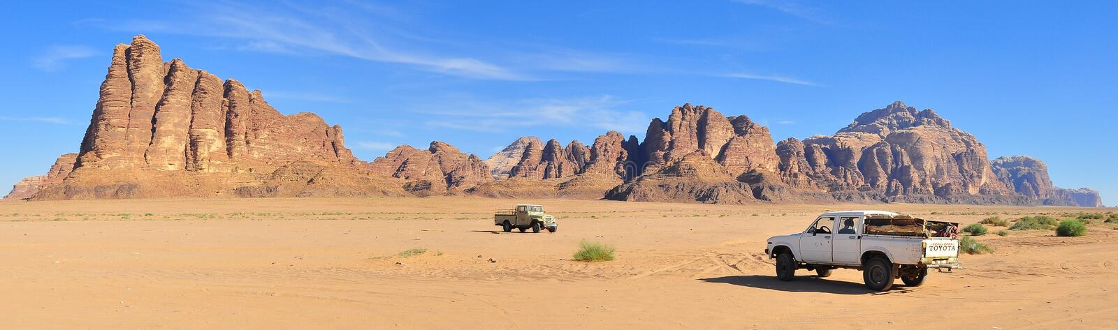 Wadi Rum royalty free stock images