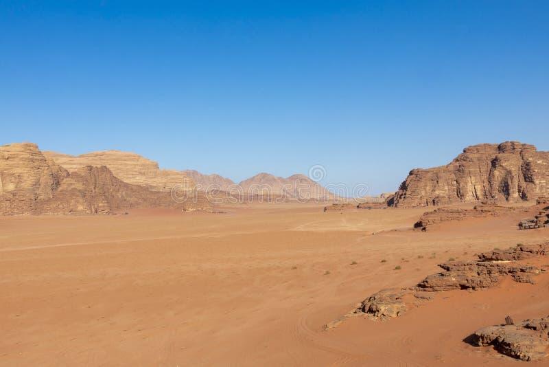Wadi Rum Red Desert, Jordan, Middle East royalty free stock images