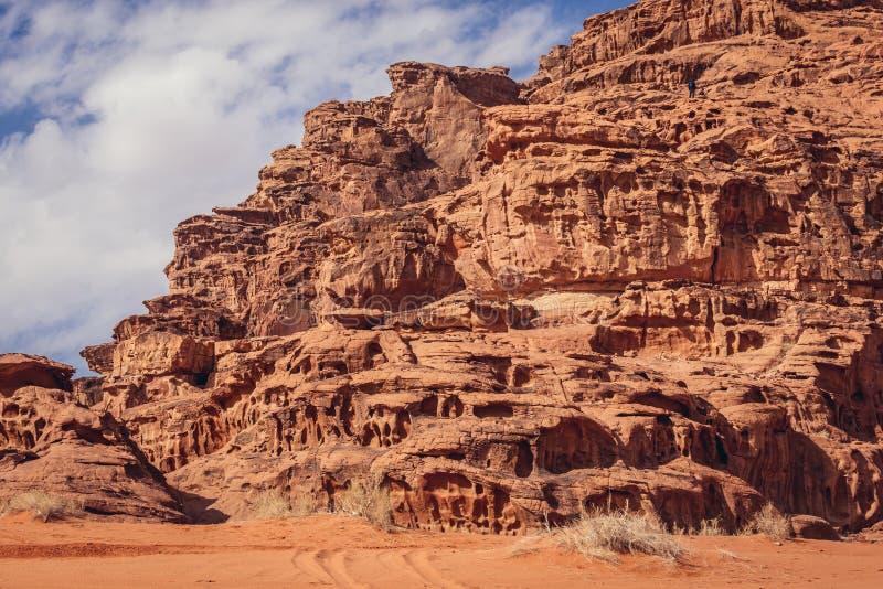 Wadi Rum-Tal lizenzfreies stockbild