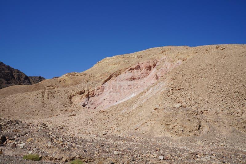Wadi Shahamon near Eilat. Israel stock photography