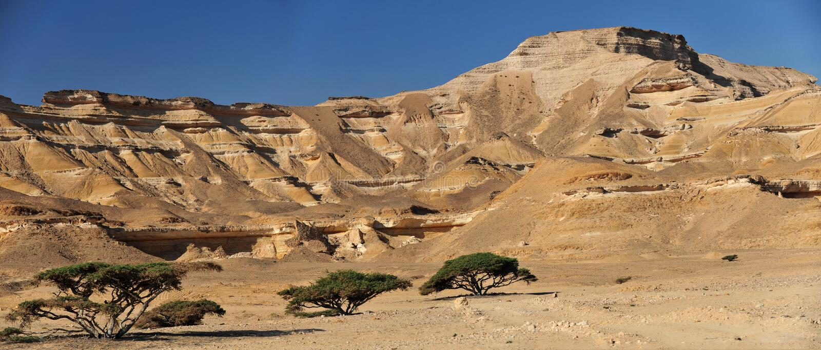 Wadi shuwaymiyah stock photography