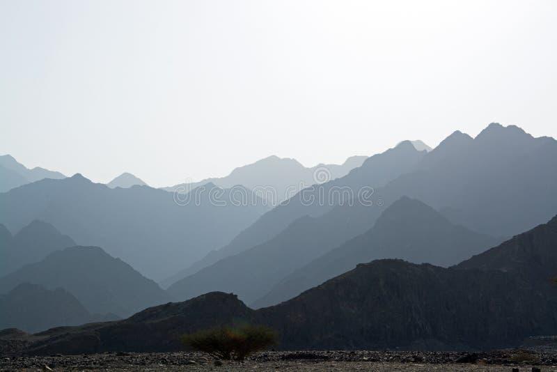 Wadi Wuraya, Fudschaira, UAE royalty free stock image