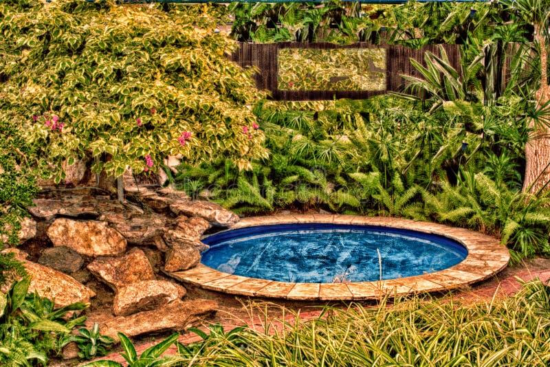 Wading бассейн стоковое фото rf