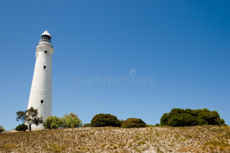 Wadjemup-Leuchtturm - Rottnest-Insel lizenzfreie stockbilder