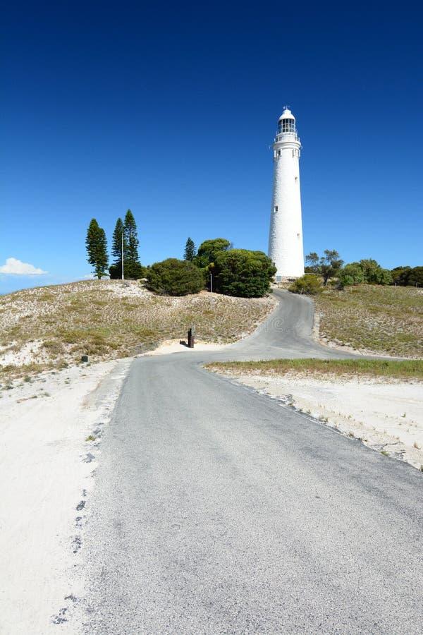 Wadjemup Leuchtturm Rottnest Insel Sein gelegen auf Wellington-Straße und war im November 2012 geöffnet australien stockfotos