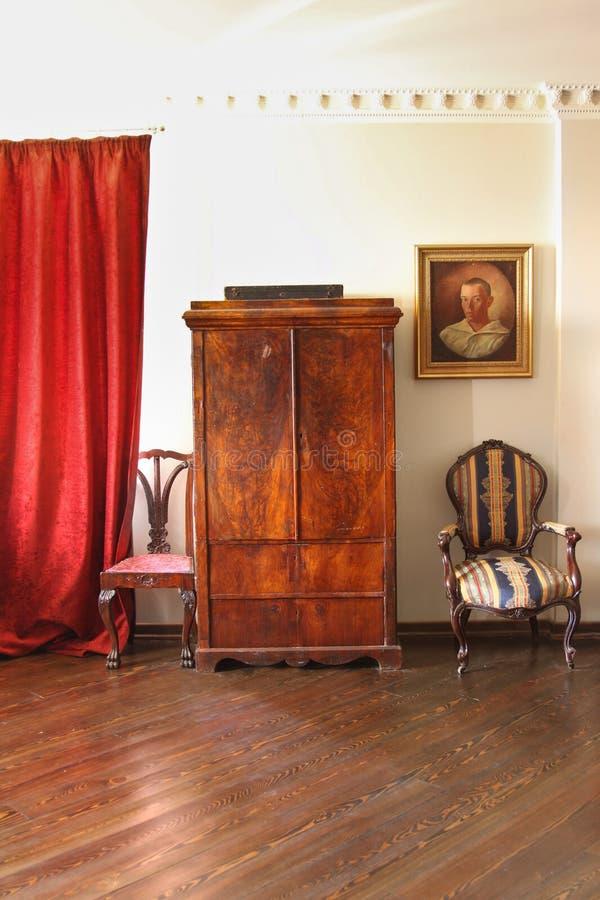 Wadrobe no interior foto de stock royalty free
