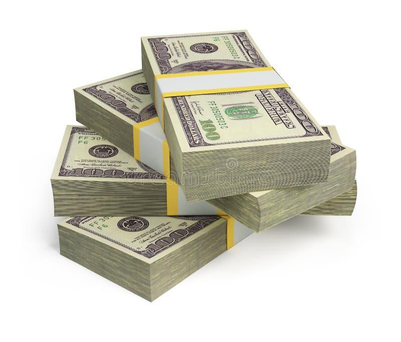 Wads Der Dollar Stockfotos