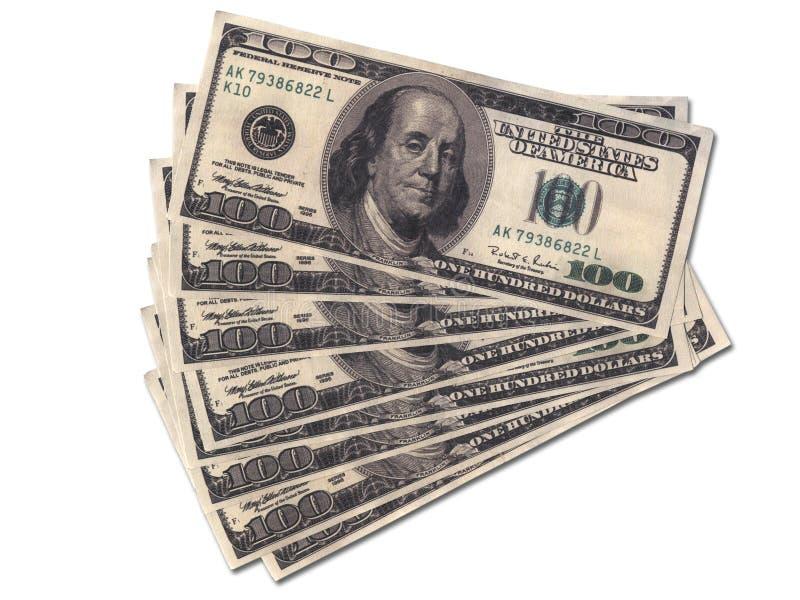 Wads do dinheiro fotos de stock