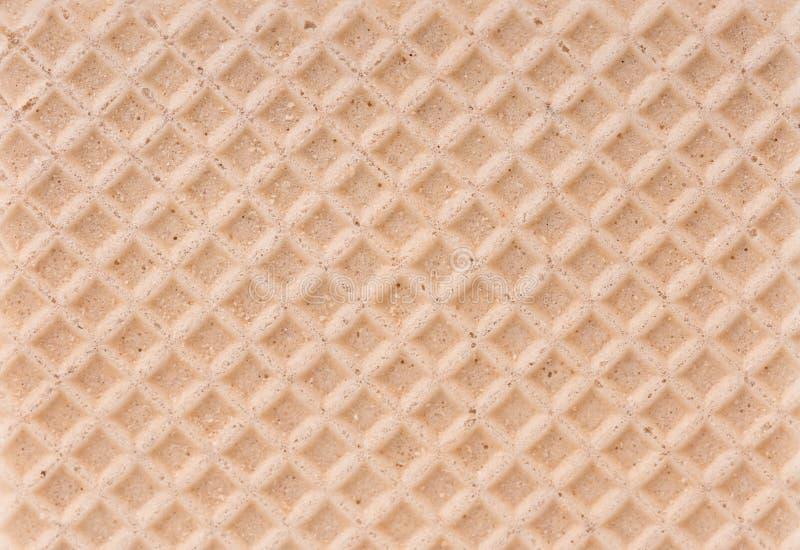 Wafeltjetextuur stock foto