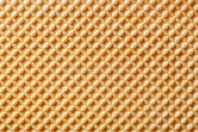 Wafer background. Wafer texture for background. Close up top view royalty free stock photography