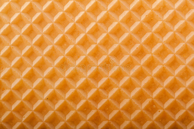 Wafer texture. Close-up Wafer texture for background stock photography