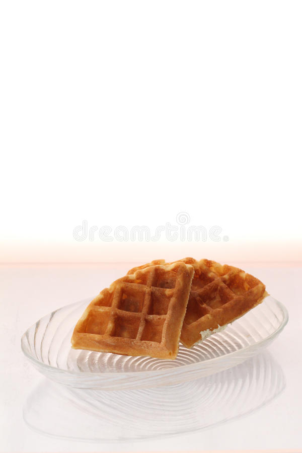 waffle плиты стоковое фото