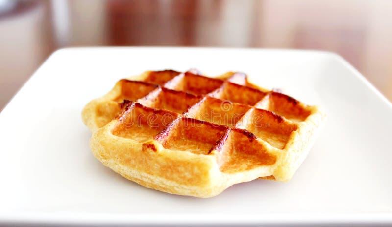 Waffle belga, gaufres Belges foto de stock royalty free