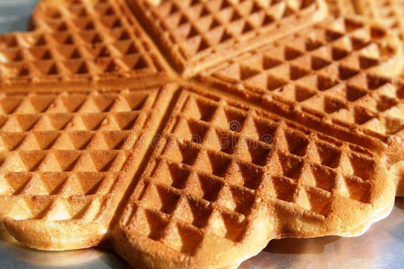 Download Waffle - Detail. Royalty Free Stock Photography - Image: 18020817