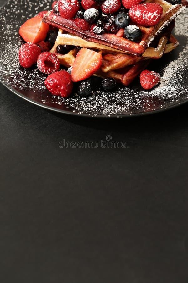 Waffle royalty free stock photography