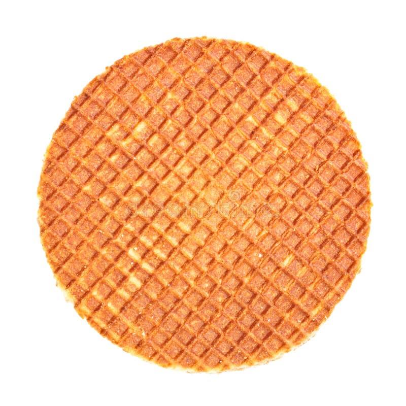 Waffle holandês foto de stock