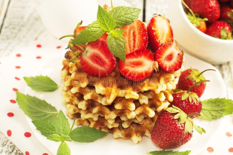 waffles стоковое фото