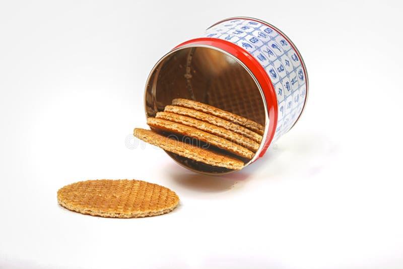 Waffles holandeses imagens de stock royalty free