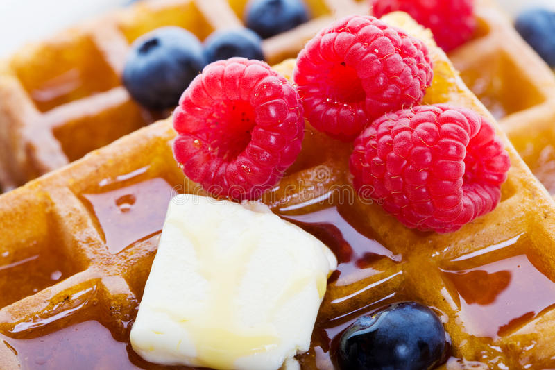 Waffles o close up foto de stock royalty free