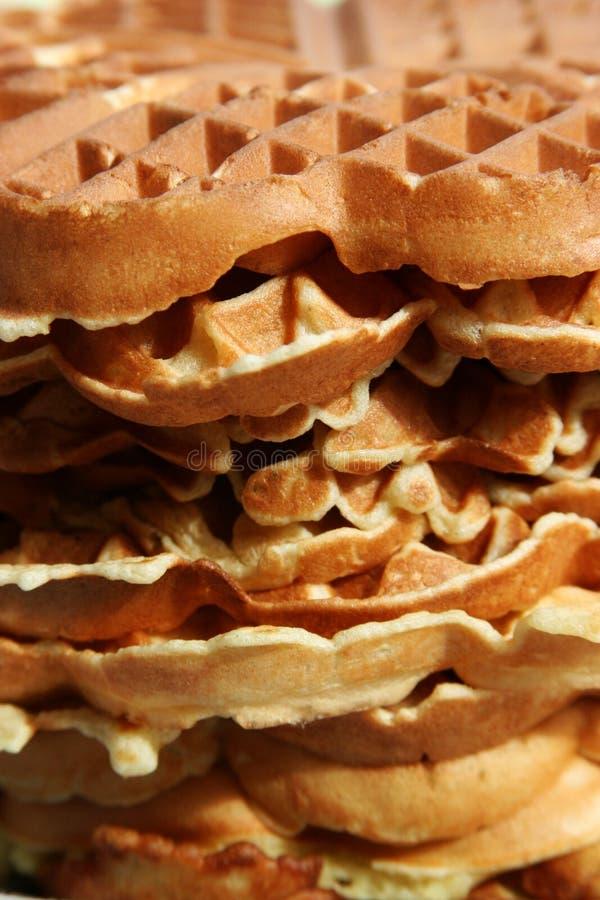 wafle fotografia stock