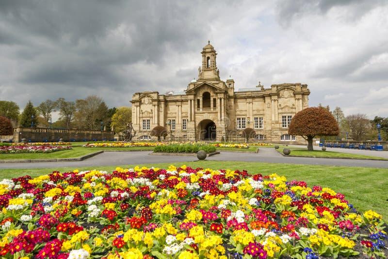 Wagenmakerzaal, lister park, Bradford royalty-vrije stock afbeelding
