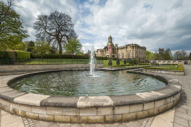 Wagenmakerzaal, lister park, Bradford royalty-vrije stock afbeeldingen