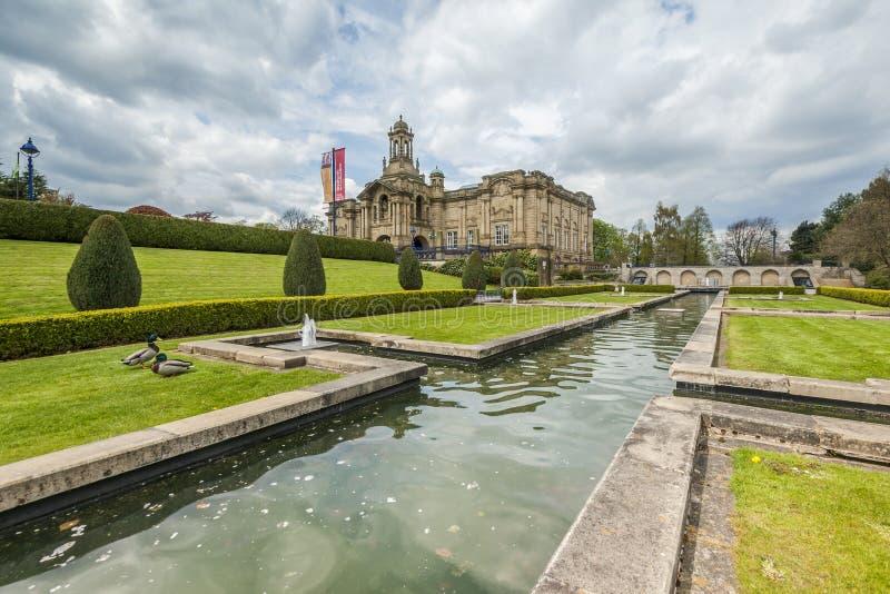 Wagenmakerzaal, lister park, Bradford royalty-vrije stock foto