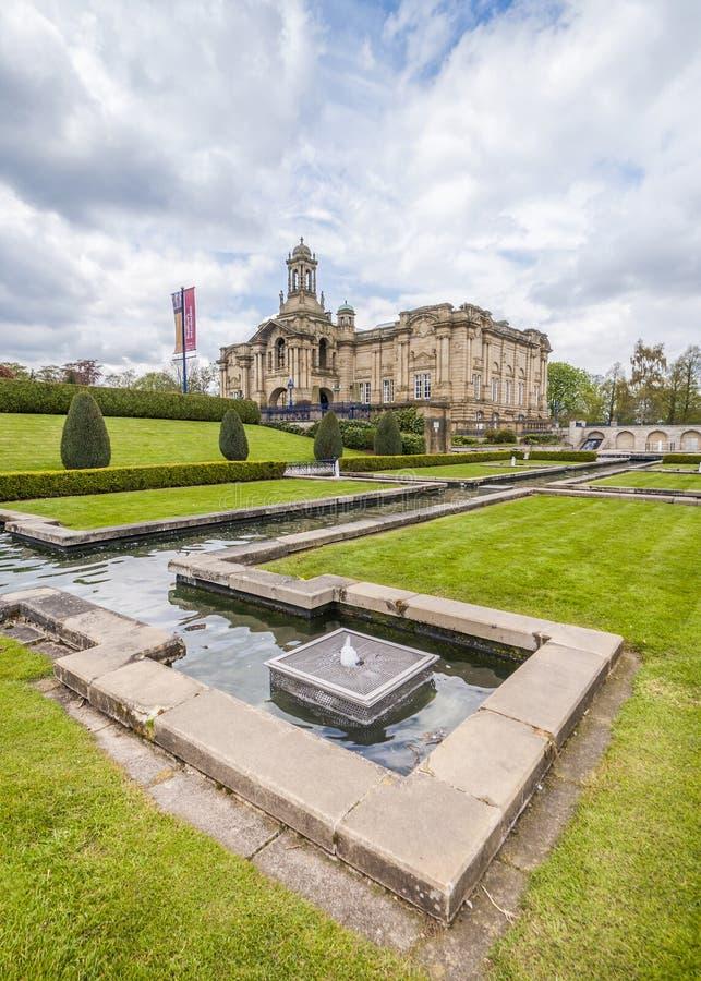 Wagenmakerzaal, lister park, Bradford royalty-vrije stock foto's