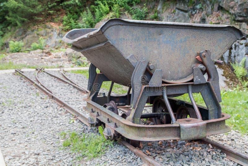 Wagenmijn royalty-vrije stock afbeelding
