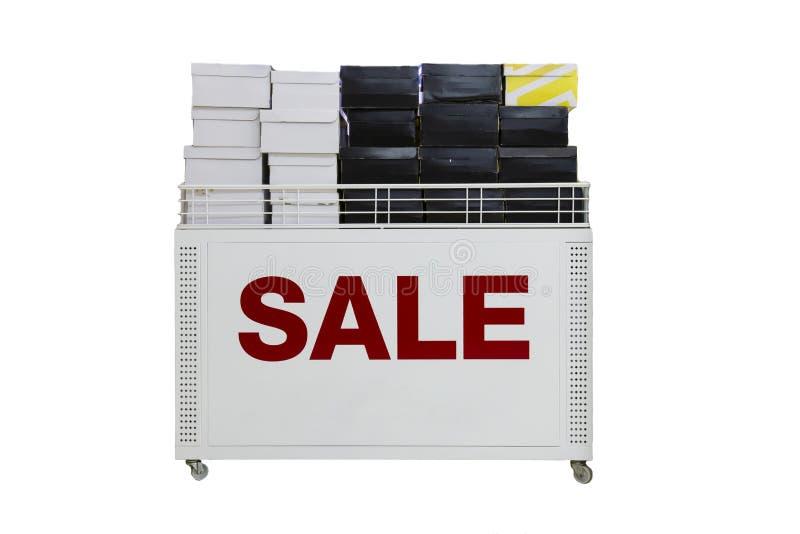 Wagenregale für Verkauf lizenzfreie stockbilder