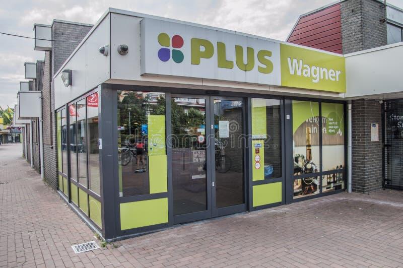 Wagner Supermarket At Duivendrecht The più Paesi Bassi fotografie stock