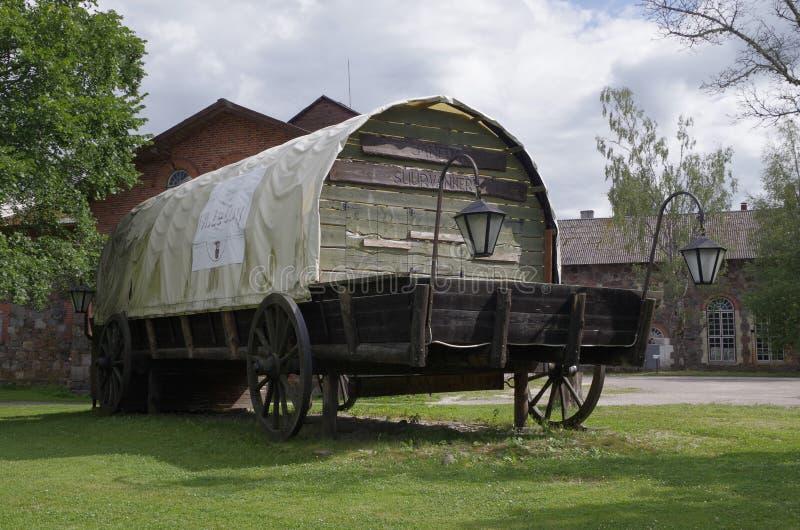 Wagon2 cubierto grande foto de archivo libre de regalías