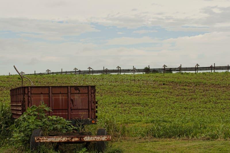 Download Wagon and drying racks stock image. Image of rustic, rusty - 83709727