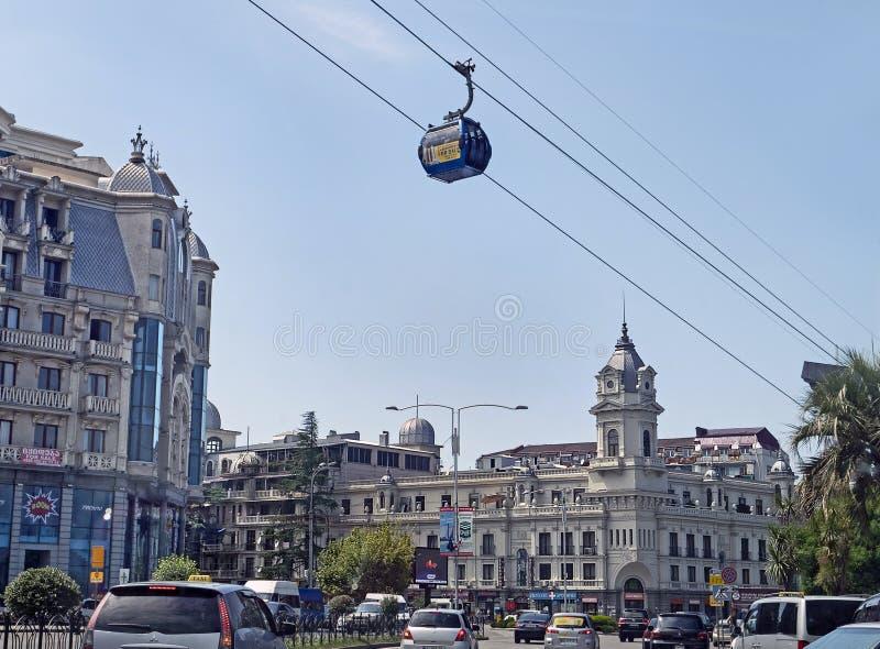 Wagon Kolei Linowej w Batumi, Gruzja zdjęcia stock