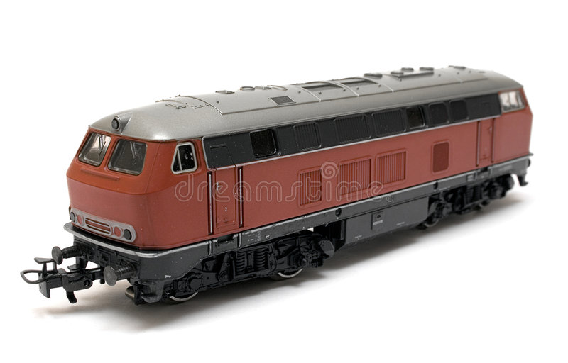 Wagon Model (Side View) stock images