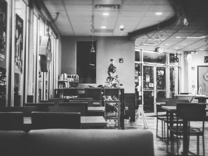 wagon-restaurant photo libre de droits