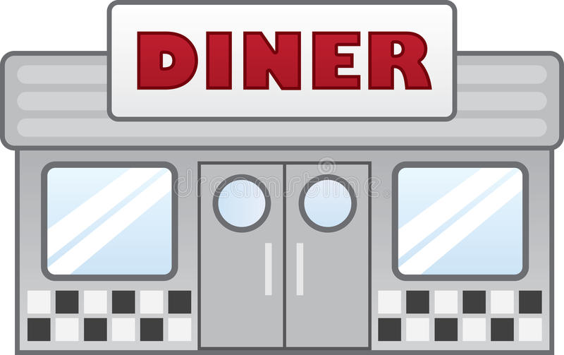 Wagon-restaurant illustration libre de droits