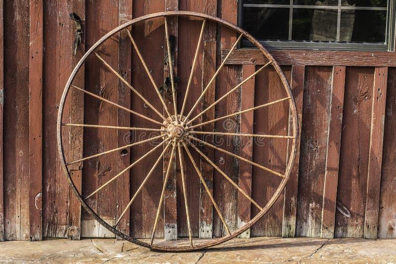 Wagon Wheel Background royalty free stock photography