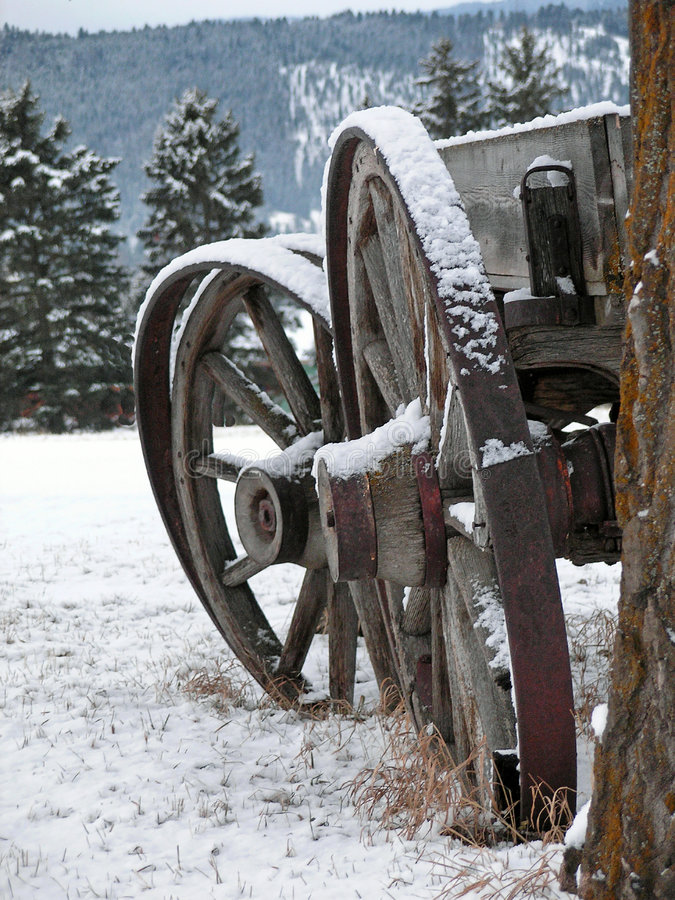 Wagon Wheels stock photos