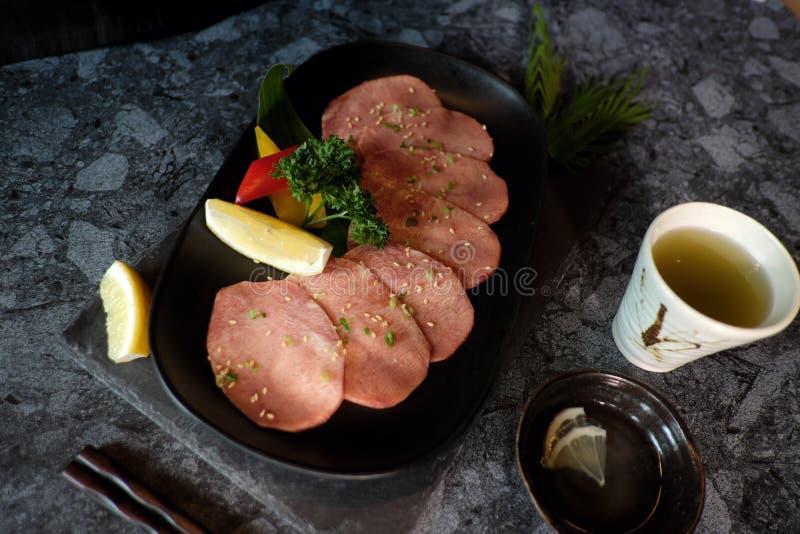 Wagyu日本牛肉A5 免版税库存图片