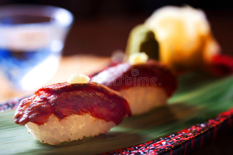 Download Wagyu Beef Sushi From Japan Stock Image - Image: 19850607