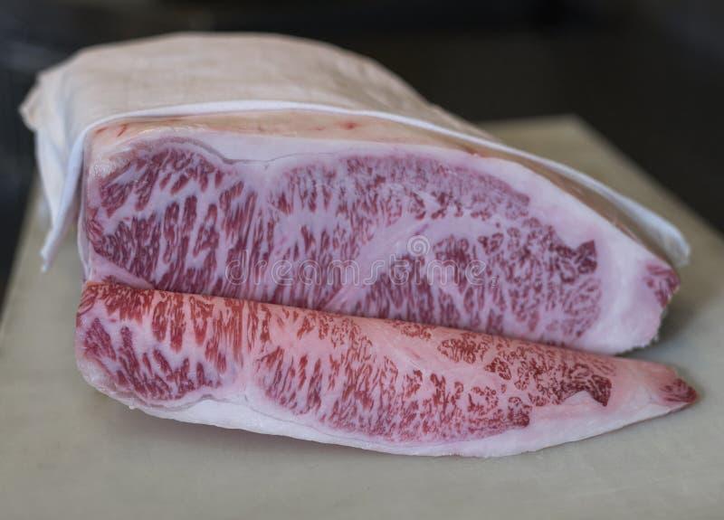 Wagyurundvlees stock afbeelding