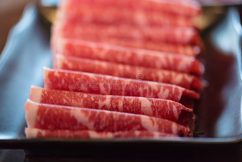 Wagyurundvlees van Japan royalty-vrije stock foto's